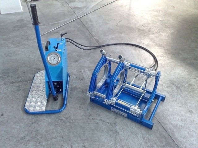 PT 8 inches basic machine & manual pump